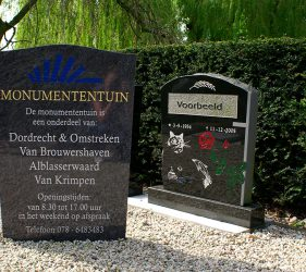 voorbeeld grafstenen